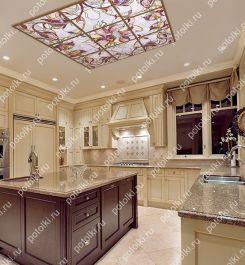 витражи в интерьере, кухонные витражи, витражи в ванной