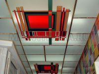 Контурные (лаковые) витражные потолки. 49.