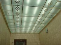 Пескоструйные витражные потолки. 77.
