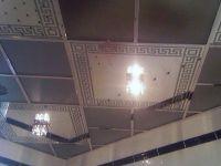 Пескоструйные витражные потолки. 83.
