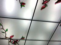 Контурные (лаковые) витражные потолки. 21.