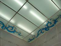 Контурные (лаковые) витражные потолки. 95.