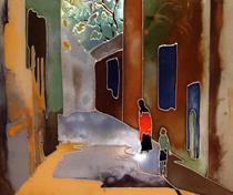 Фото витражных дверей