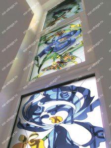 Изготовление витражей на окна