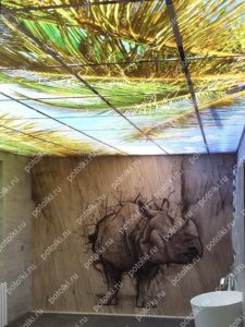 Витражи на потолок в квартире
