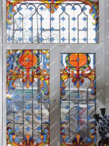 Витражное окно рисунок