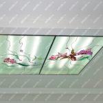 Потолок контурно-заливной