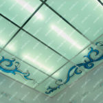 Kp_33_1 Потолок контурно-заливной