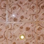 Php_119_3 Потолок витражный фотопечать