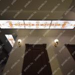 Php_125_2 Потолок витражный фотопечать