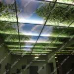 Php_128_1 Потолок витражный фотопечать