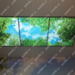 Php_138_2 Потолок витражный фотопечать