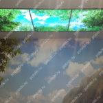 Php_138_4 Потолок витражный фотопечать