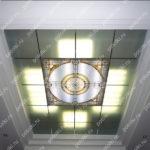Php_139_1 Потолок витражный фотопечать