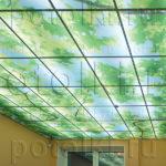 Php_13_2 Потолок витражный фотопечать