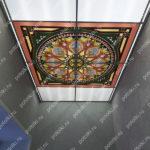 Php_142_1 Потолок витражный фотопечать