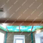 Php_143_3 Потолок витражный фотопечать