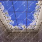 Php_144_2 Потолок витражный фотопечать