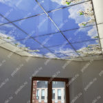 Php_144_5 Потолок витражный фотопечать