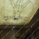 Php_147_4 Потолок витражный фотопечать