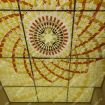 Php_148_3 Потолок витражный фотопечать