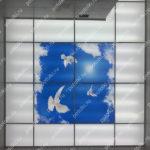 Php_149_2 Потолок витражный фотопечать