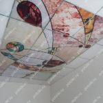 Php_150_3 Потолок витражный фотопечать