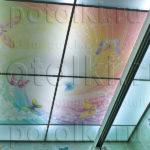 Php_1_2 Потолок витражный фотопечать
