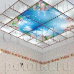 Php_24_1 Потолок витражный фотопечать