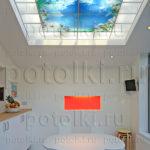 Php_33_1 Потолок витражный фотопечать