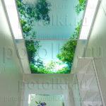 Php_35_2 Потолок витражный фотопечать