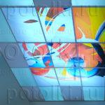 Php_42_1 Потолок витражный фотопечать