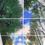 Php_54_1 Потолок витражный фотопечать