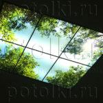 Php_56_1 Потолок витражный фотопечать