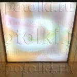 Php_57_1 Потолок витражный фотопечать