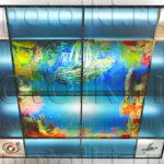 Php_62_1 Потолок витражный фотопечать