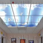 Php_9_1 Потолок витражный фотопечать