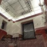 Потолки витражные пескоструйные