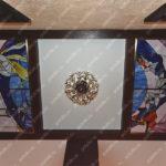 Потолок витражный тиффани