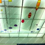 Контурные витражные потолки