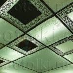 Пескоструйные витражные потолки