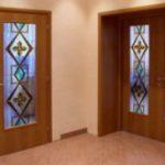 Витражи для дверей классические