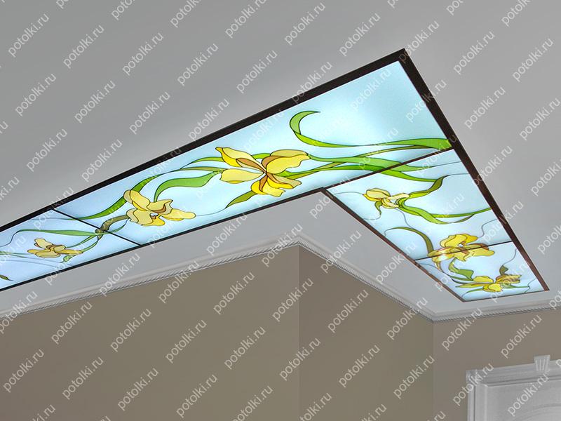 Kp_64_3 Потолок контурно-заливной