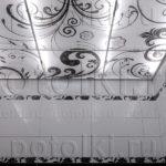 Php_11 Потолок витражный фотопечать