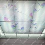 Php_123_2 Потолок витражный фотопечать