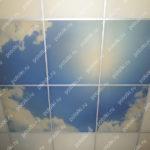 Php_124_2 Потолок витражный фотопечать