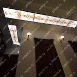 Php_125_1 Потолок витражный фотопечать