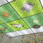 Php_130_2 Потолок витражный фотопечать