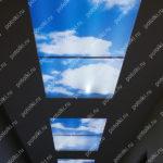 Php_131_1 Потолок витражный фотопечать