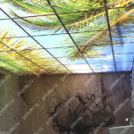 Php_137_1 Потолок витражный фотопечать